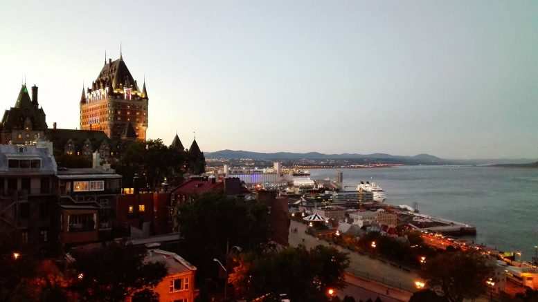 Québec city vue sur chateau